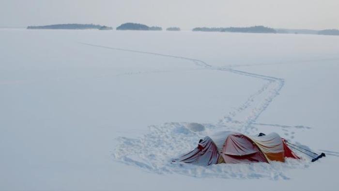 Zimní jezero